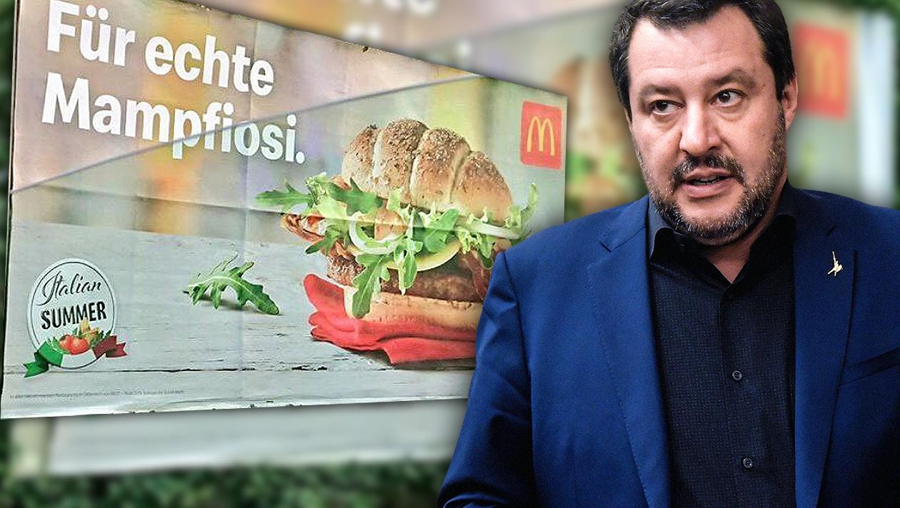 """Mampfiosi"": McDonald's Österreich ärgert Italien"