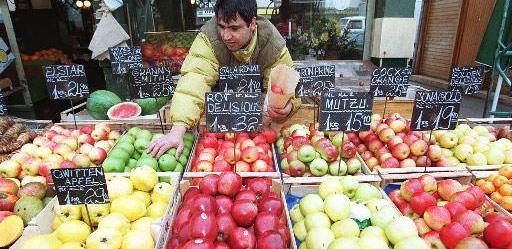 Obst und Gem�se senken Krebsrisiko