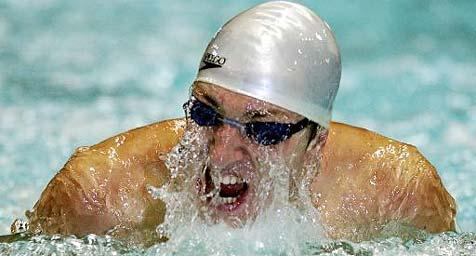 Podoprigora holte Goldmedaille �ber 200-m-Brust