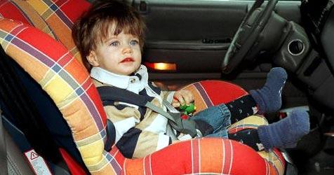 Tipps zum Kinderschutz im Auto (Bild: Martin Jöchl)