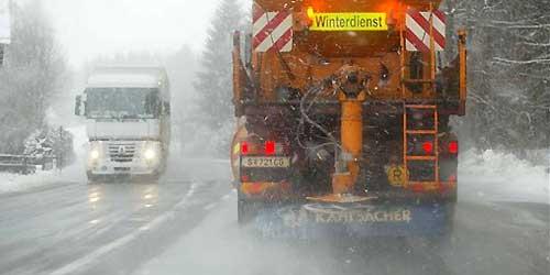 Klagen häufen sich: Winterdienst heuer mit GPS unterwegs