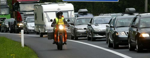 15 Kilometer langer Stau nach Unfall auf A1