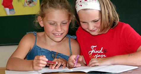 Schüler werden zu Mediatoren ausgebildet (Bild: Peter Tomschi)
