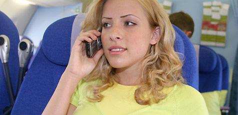 AUA sagt Nein zu Handy-Telefonaten im Flugzeug (Bild: Martin Jöchl)