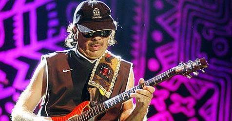 Santana rümpft Nase über Computermusik