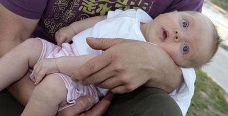Starker Rückgang der Geburtenzahl in OÖ (Bild: Chris Koller)