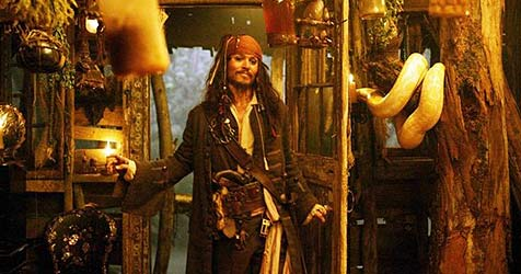 Johnny Depp noch einmal als Captain Sparrow (Bild: Walt Disney Enterprises)