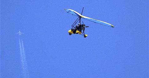 Hängegleiter-Pilot tödlich verunglückt