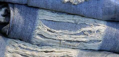 Jeansdieb vergaß seine Brieftasche in Umkleidekabine