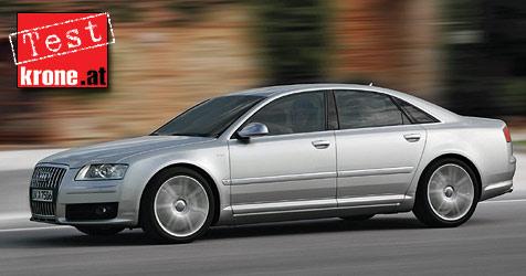 Audi S8: Gro�es Herz und doch gnadenlos (Bild: Audi)