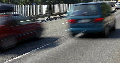 Raser auf der A10 blechen mautfreie Stadtautobahn (Bild: Christof Birbaumer)