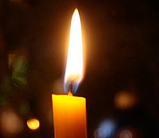 Kerzenreste werden zu Fackeln
