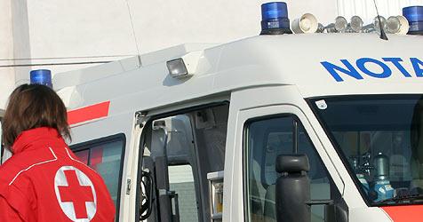 Fußgänger bei Kollision mit Auto schwer verletzt (Bild: Martin A. Jöchl)