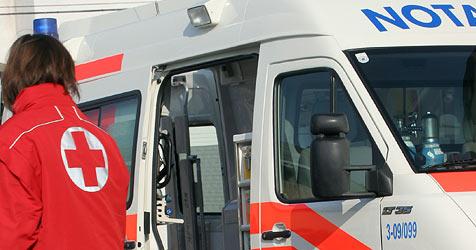 Tschechische Familie bei Unfall auf A10 verletzt (Bild: Martin Jöchl)