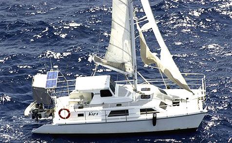 Britisches Paar nach 40 Tagen aus Seenot gerettet