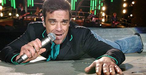 Robbie deutet Comeback mit Take That an