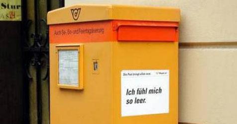Dieb lässt in Timelkam Briefkasten mitgehen (Bild: APA)