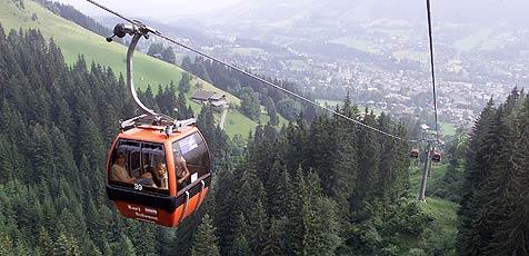 Katrin-Seilbahn fährt wieder auf den Ischler Hausberg (Bild: Christof Birbaumer)