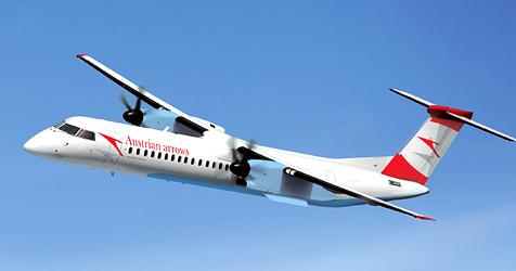 Friedenslicht unter schlechtem Stern (Bild: Austrian Airlines)