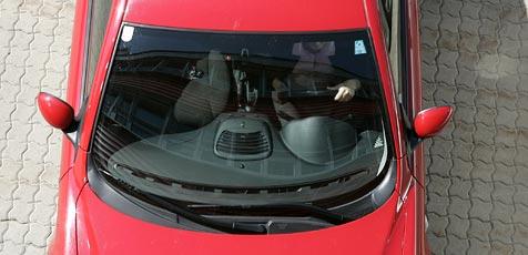 Dieb kapert Auto eines Ermittlers - verhaftet (Bild: Martin Jöchl)
