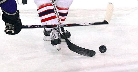 1:2 - Black-Wings-Stars trafen leeres Tor nicht (Bild: APA/Daniel Krug sen.)