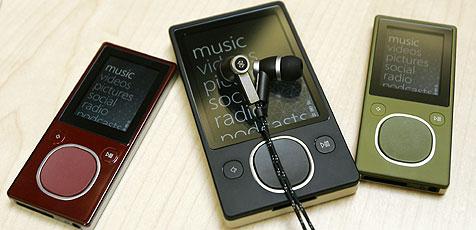 Microsoft erweitert Angebot für Musik-Player Zune