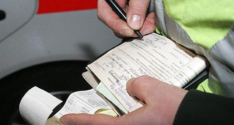 """Strafzettel für Parksünder """"gegen Menschenrechte"""" (Bild: Andi Schiel)"""