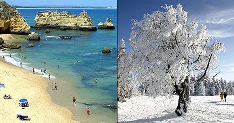 Die besten Reiseziele von Jänner bis April