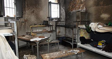 Schubh�ftling bei Brand in Zelle schwer verletzt (Bild: APA/GEORG HOCHMUTH)