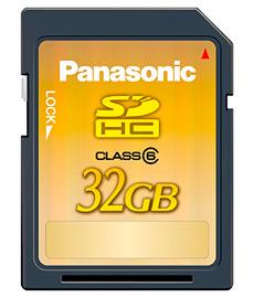 CES: Panasonic zeigt 32-Gigabyte-SDHC-Karte