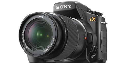 Neue digitale Spiegelreflexkamera von Sony (Bild: Sony)