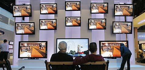 Preisverfall bei Fernsehern setzt Händlern zu