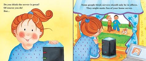 Ein Kinderbuch von Microsoft