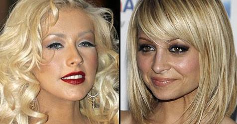 Christina Aguilera und Nicole Richie sind Mamas