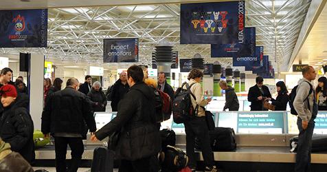 Reisen ohne Grenzkontrollen in 24 EU-L�ndern (Bild: APA-Foto: Barbara Gindl)