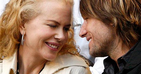 So verliebt turteln Nicole Kidman und Keith Urban