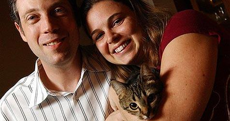 Verschwundene Katze in Koffer aufgetaucht (Bild: AP/Rhonda Vanover)