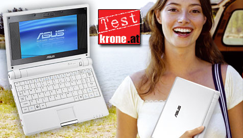 "Asus"" Eee PC im krone.at-Test"