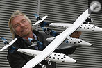"Richard Branson präsentiert ""SpaceShip Two"""