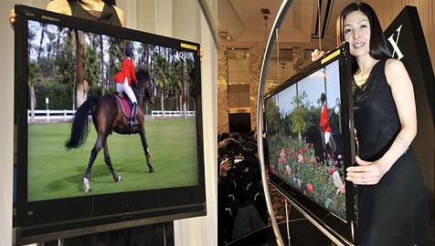 Sharp bringt dünnsten Fernseher in den Handel