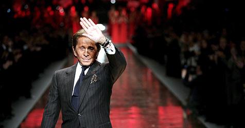 Valentinos Abschied aus der Modewelt