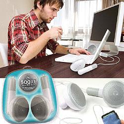 XXL-Lautsprecher im Kopfhörer-Design