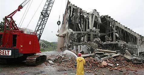 Abrissunternehmen irrt sich in der Adresse