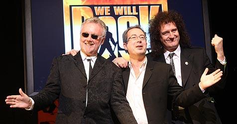 Brian May bei Premiere des Queen-Musicals (Bild: APA/Goerg Hochmuth)