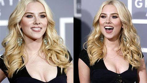 Scarlett Johansson: Massenstrip im Wüstenlager