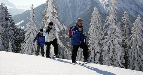 Schneeschuhwanderer am Dachstein gerettet