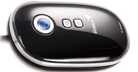Laser-Maus ohne Tasten und Scrollrad (Bild: Genius)