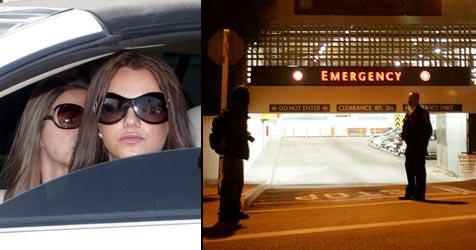 Britney Spears erneut im Krankenhaus