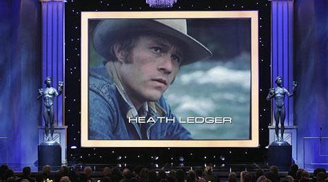 Hollywood-Stars nehmen Abschied von Ledger