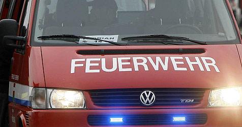 Zelt bei Reitturnier im Flachgau in Brand geraten (Bild: APA-FOTO: HARALD SCHNEIDER)